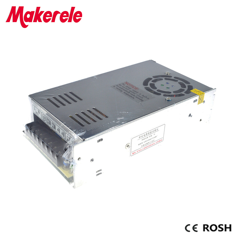 350W Switching Power Supply 220V 110V AC To 5VDC 50A Smps Mini Size Single  Output With Aluminum Shell Power Supply MS-350-5