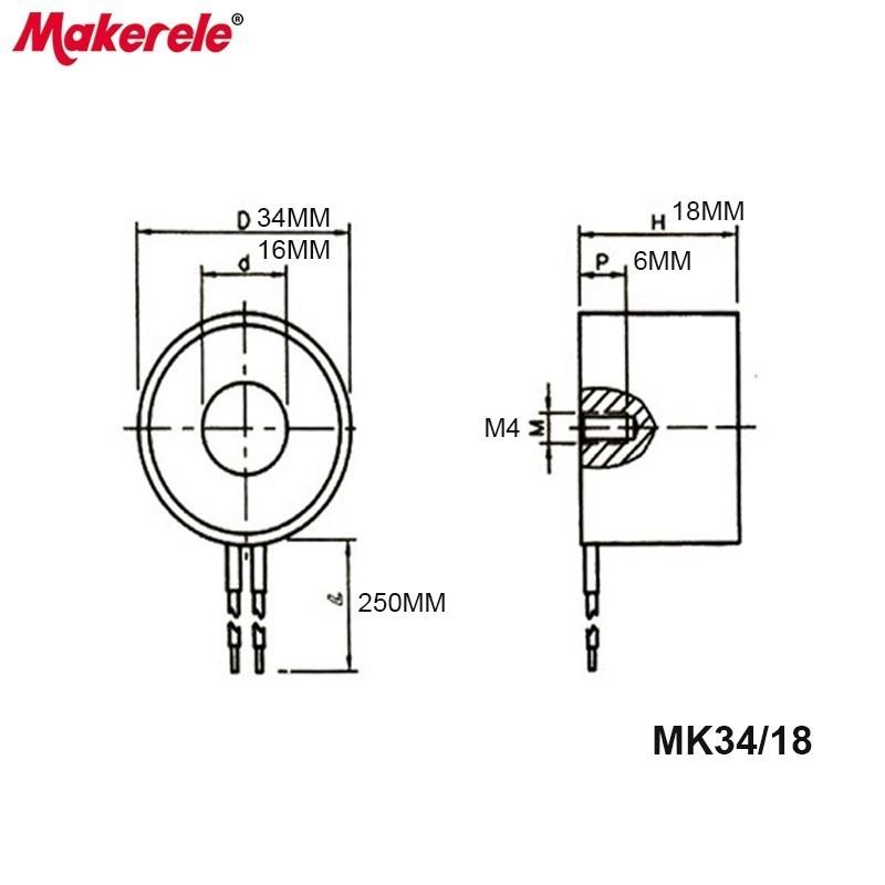 mk34  18 lifting electromagnet 18kg  180n magneten holding