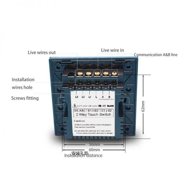 Wiring Diagram 2 Gang 2 Way Light Switch
