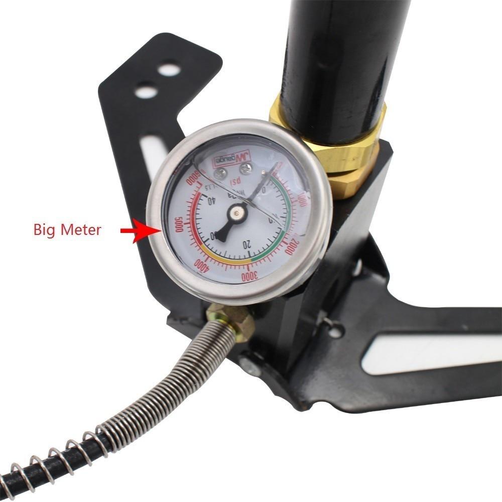 High Pressure Pcp Hand Operated Air Pump 4500psi 300bar